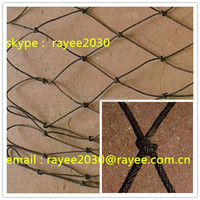 factory price nylon tire cord net for fishing exporting to Pakistan, net cable de lazo de nylon