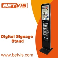 "Non-PC based 15"" new bus lcd digital signage kiosk"