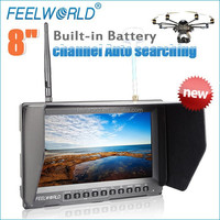 8 inch 5.8GHz transmitters 32ch 1080p hd dvr monitor for toy plane