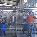 Aseptic bag filling system, aseptic filler (filling machine), bag in drum