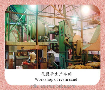 Precoated sand (resin coated sand) for iron,steel,nonferrous metal parts casting