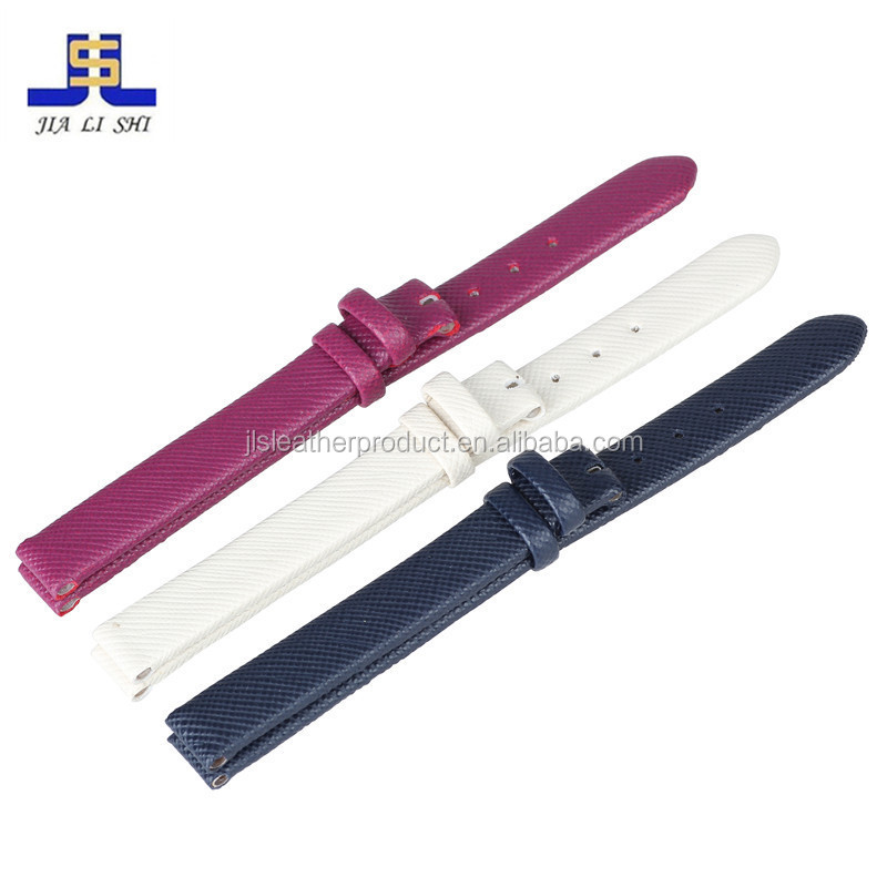 Most fashioable cool multiful shinning color genuine leather watch band