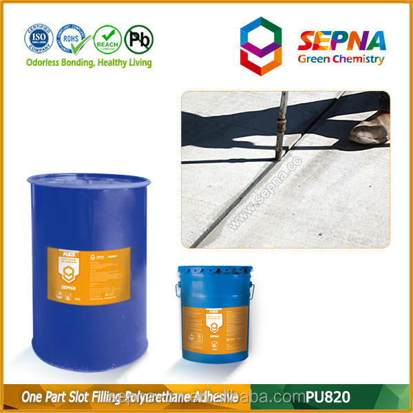 polyurethane concrete repair super sticky durable flexibility crack caulk joint road pouring sealant