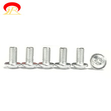 Wholesale M4 Pan Washer Head Machine Screw Steel Phillips Driver Color Galvanized Plated With Washer Attached
