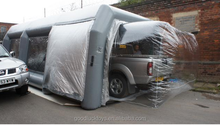 mobile inflatable spray tan tent /inflatable spray booth
