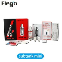 Kangertech Subtank Mini rba Pyrex Glass Cartomizer with OCC - 4.5ml sub ohm tank