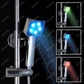 LD8008-B4 rgb temperature senosr water glow square as seen on tv shower head led