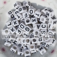 Buy 88041800 New 10mm White Base With Black Dots Acrylic Dice Cube ...