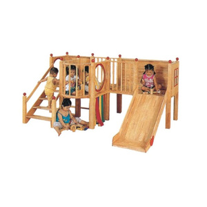 China Supplier outdoor wooden children playground for wholesale