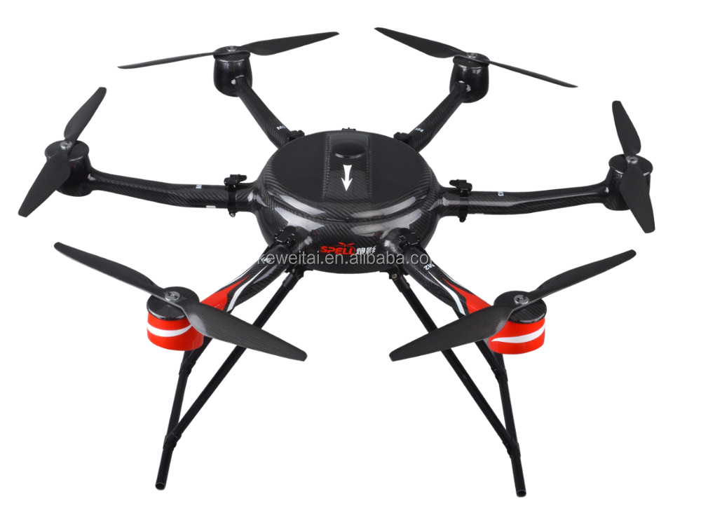 Polished high-end smart foldable Quad-rotor UAV Drone/aircraft with various payloads