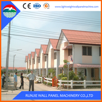 prefabricated movable Low Cost steel frame modular house