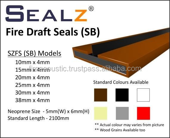 Intumescent Fire Draft Seal
