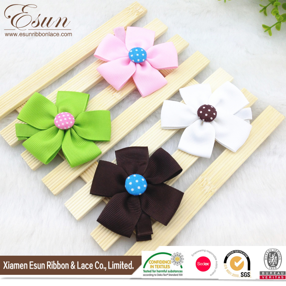 multi colors lovely hawaiian flower hair clip for infant baby girls