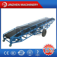 Flexible operation sawdust belt conveyor