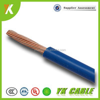 copper conduct pvc insulated cable 0.75mm2