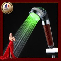 Cixi qianyao Hydroelectric led shower head with temperature sensor