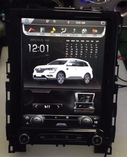 WAYLAS 10.4'' Vertical Screen Android Car DVD Player Multimedia for Renault Megane 4