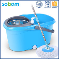Eco-friendly spin mop replacement parts,extension pole mop pole