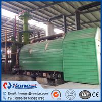 waste tire gasoline pyrolysis plant made in China