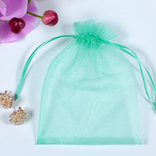 Competitive price printed organza gift bags pouch for promotion
