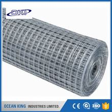 China Manufacturer decorative construction 1/2 inch galvanized welded wire mesh fence
