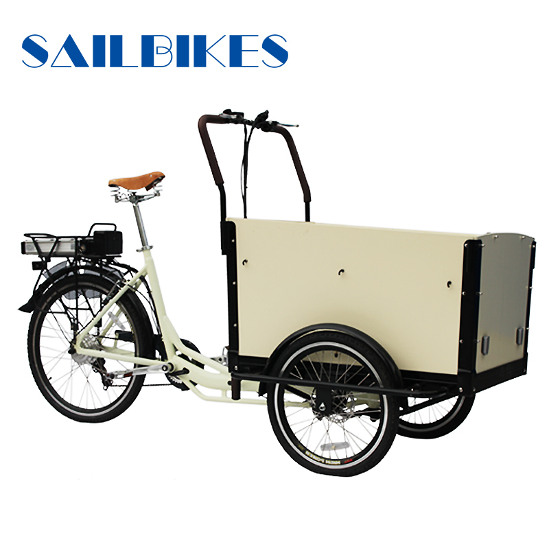 OEM new closed cabin cargo tricycle
