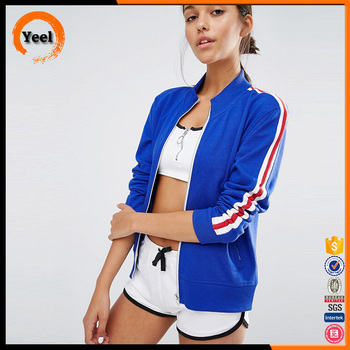 Customized cheap and high quality material nylon women men bomber jacket