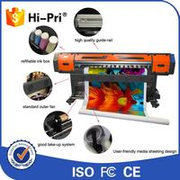 1.8m/6 feet dx5 head eco solvent printer for vinyl/pvc banner/photopaper/wrap/wallpaper/signage application