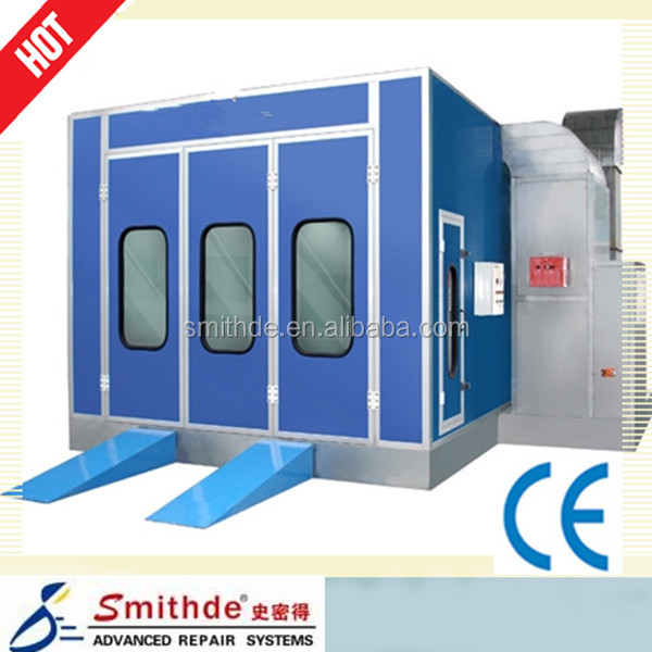 S-58 Yantai Smithde car spray booth/auto painting ovens