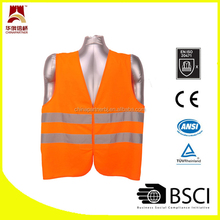 2 band cheap knitted reflective safety vest