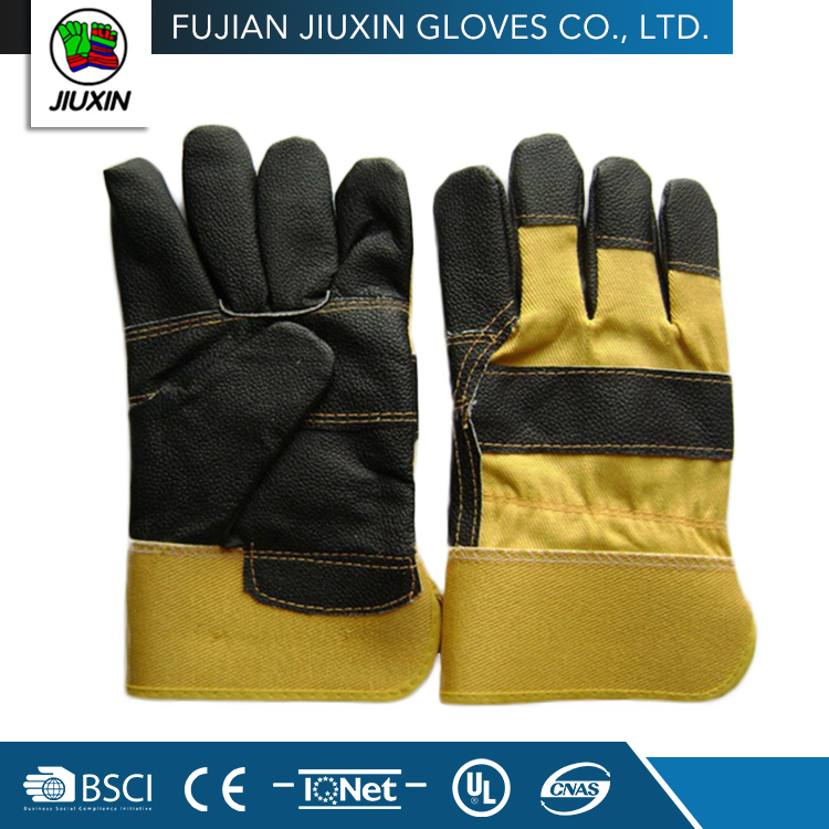 JX68E544 China Wholesale OEM factory made mechanic synthetic leather gloves
