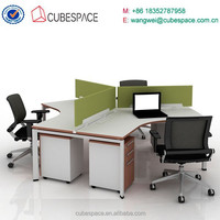 office desk for 3 person