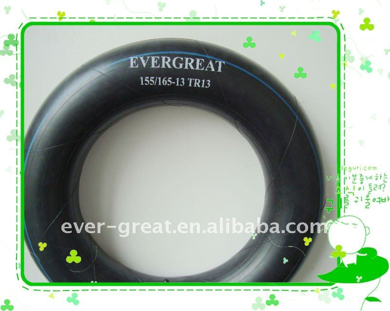 155/165-13inner tube for truck and passenger car with competitive price