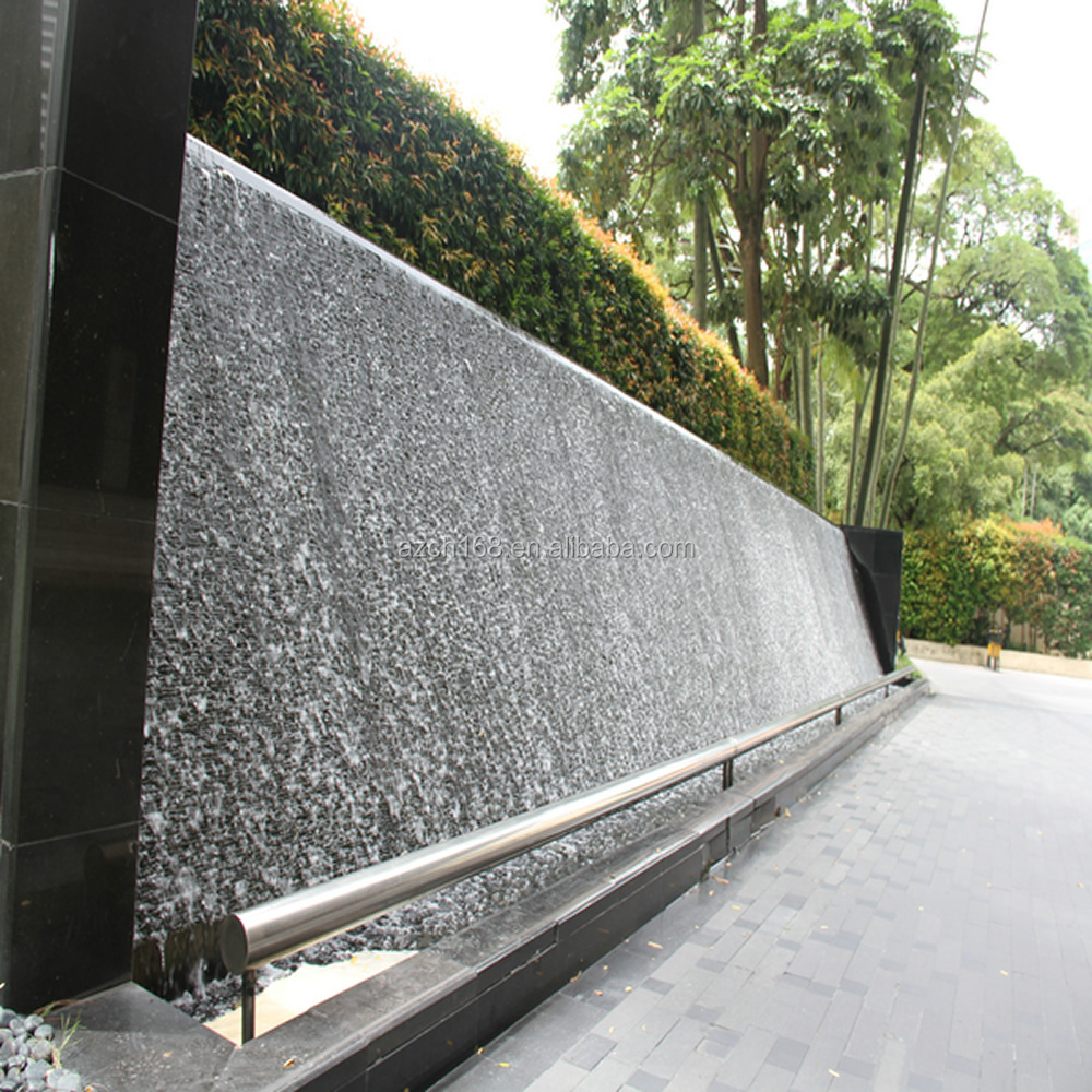 Modern Art Artificial Waterfall Fountain Decorative Wall Water Fountain Designs