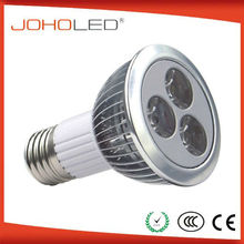 Fin-type design hight power spot light 3x2w e27