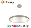 Color temperature dimmable decorative led suspended ceiling light bedroom