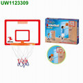 Micro Hoop w/ Foam Ball,Basketball Hoop Board Plastic Hoop Set,Hanging Hoops Game
