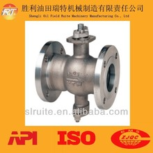 oilfield drilling API High Quality competitive price ANSI class 150-300 v-port flanged ball valve for sale Manufacturer