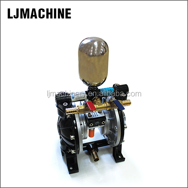 High capacity pump for wood working machine