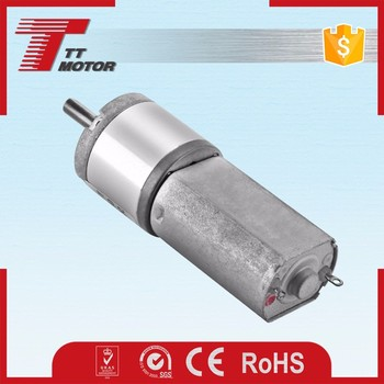 GM20-180SH 12v 24v dc geared electric motors