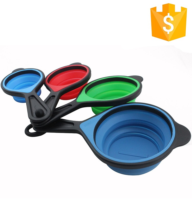 Multifunction plastic measuring cup food grade adjustable measuring spoon