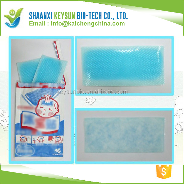Ava recommend ice menthol gel kids baby hydrogel pain relief fever reducing cool patch