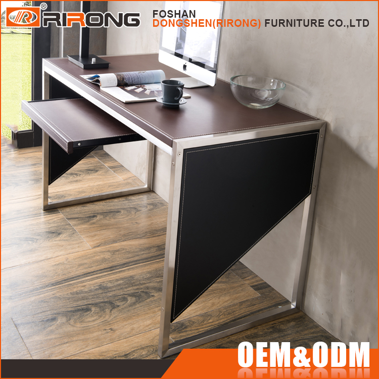 Customized metal frame 1.2m office table design, cheap price exclusive office table