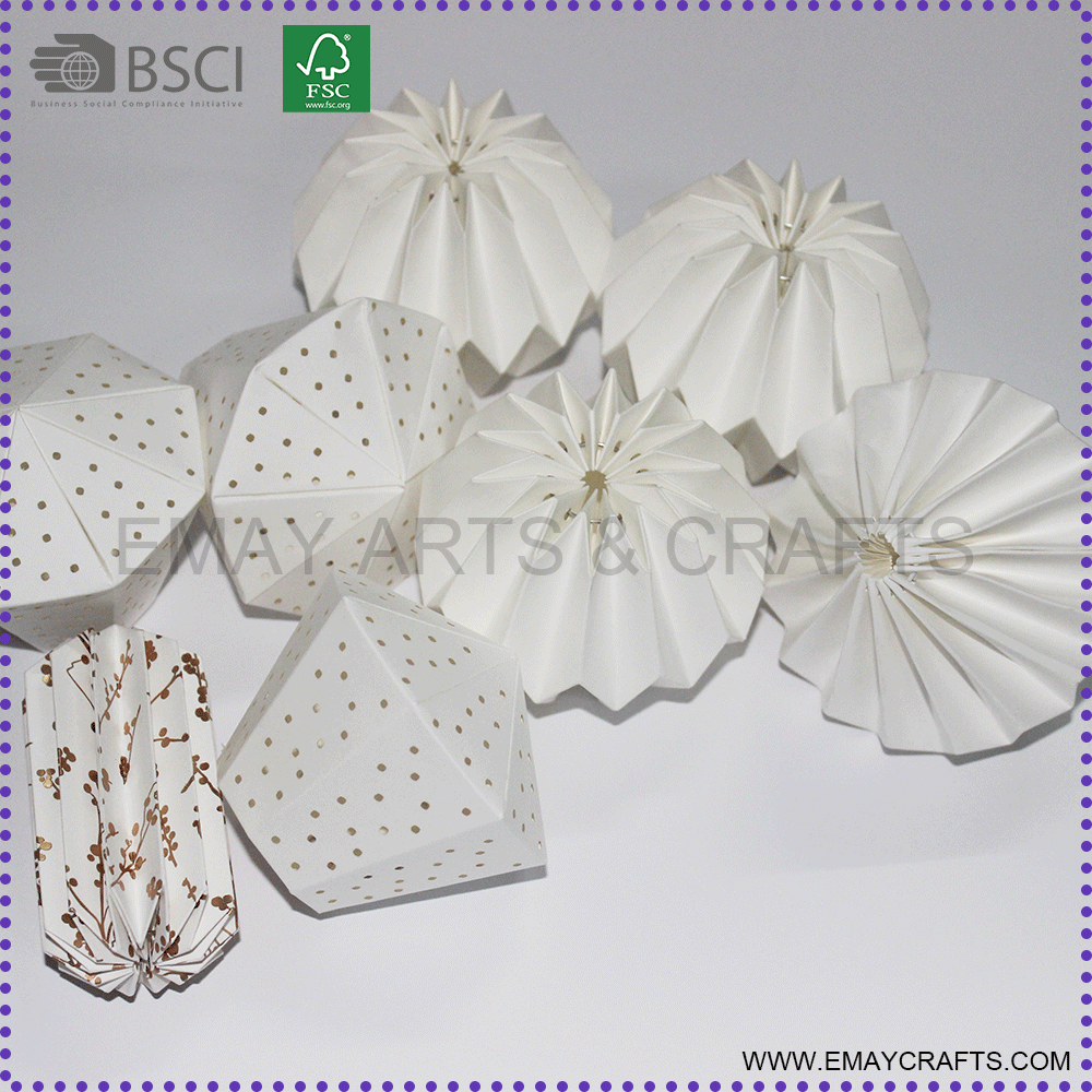 party hanging decoration lantern paper lampshades