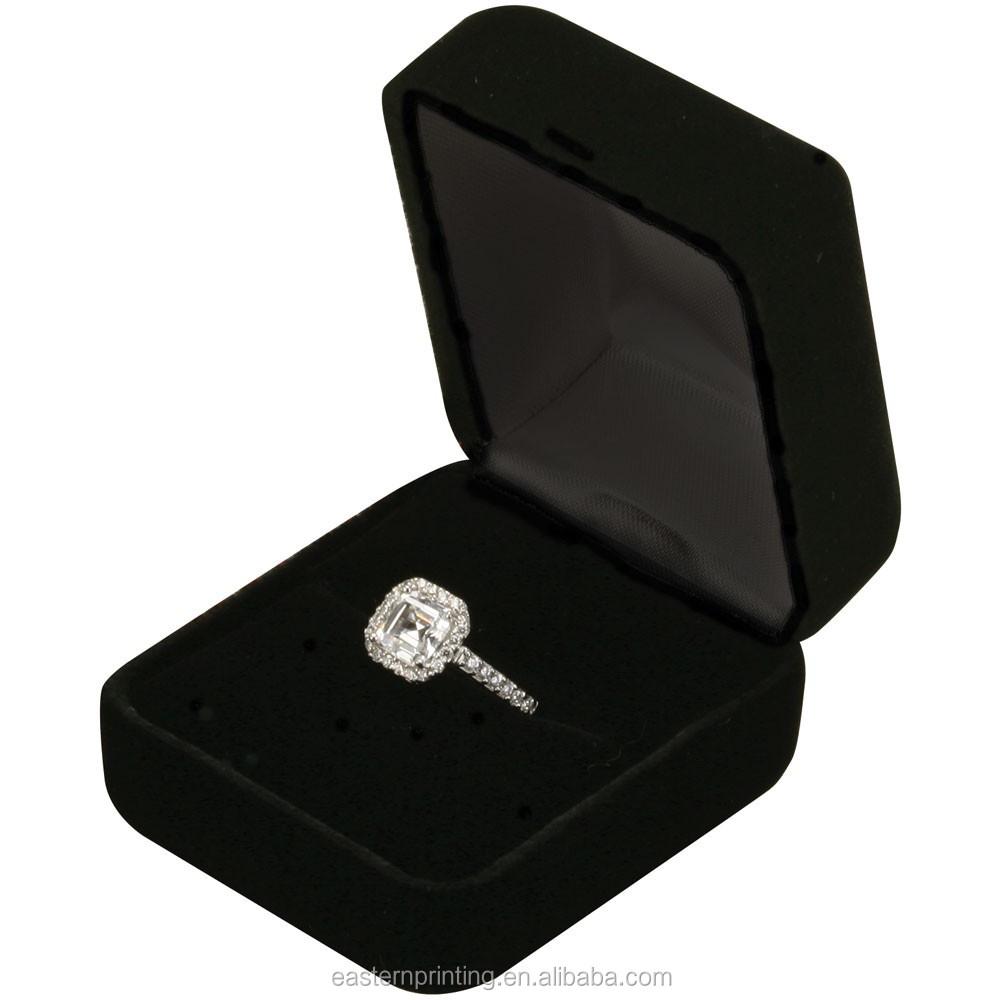 cheap velvet engagement ring box buy engagement ring box