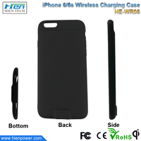 Phone accessories Qi wireless charging back cover cell phone case for iPhone