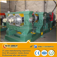 high output used rubber tire recycling machine/Two Roll Mixing Mill