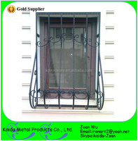 Small Wrought Iron Bars Window Grills Wholesale