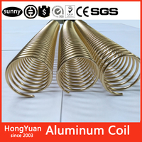 Metal Spiral Coil Binding Supply - 3/8 Aluminum - For any coil binding machine