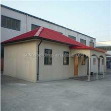 China gold supplier cheap prefab steel structure prefab house